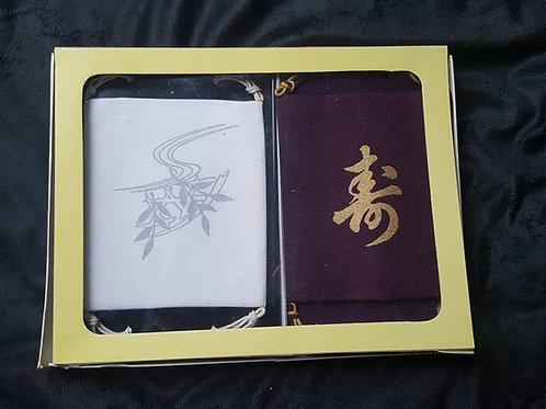 White & Purple Gift Set