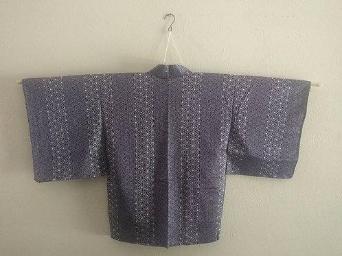 Purple Shibori Haori