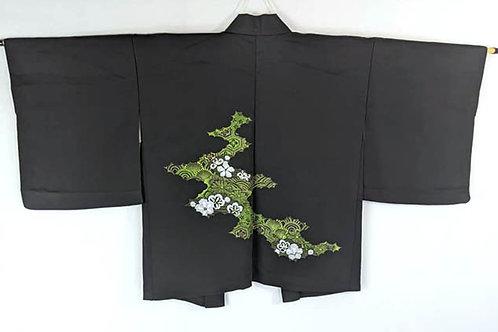 black haori for women from japan