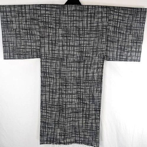 Grey & Black Juban