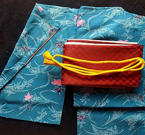 Kimono with Obi