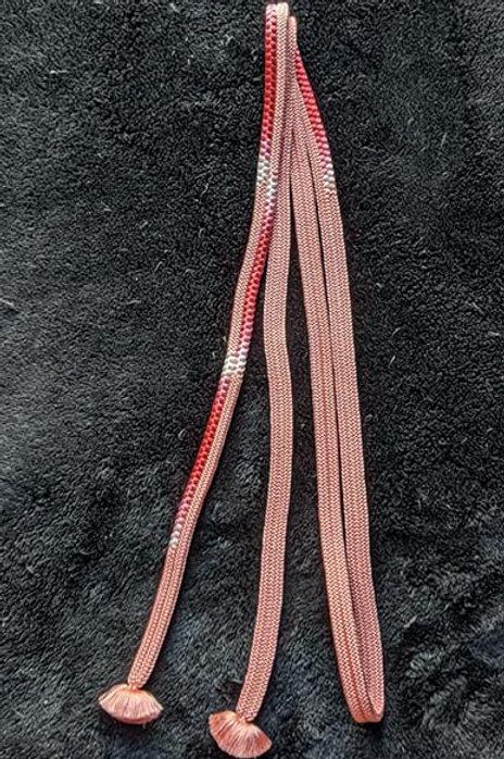 pink obijime for kimono