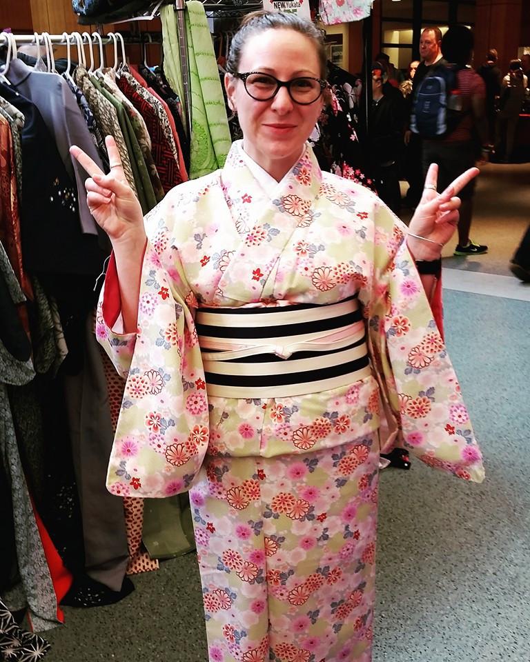 Cherry Blossom Festival Kimono For Sale