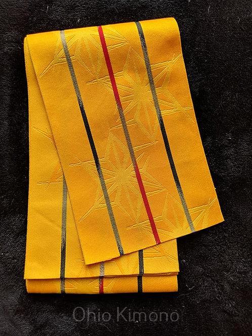 yellow hanhaba obi