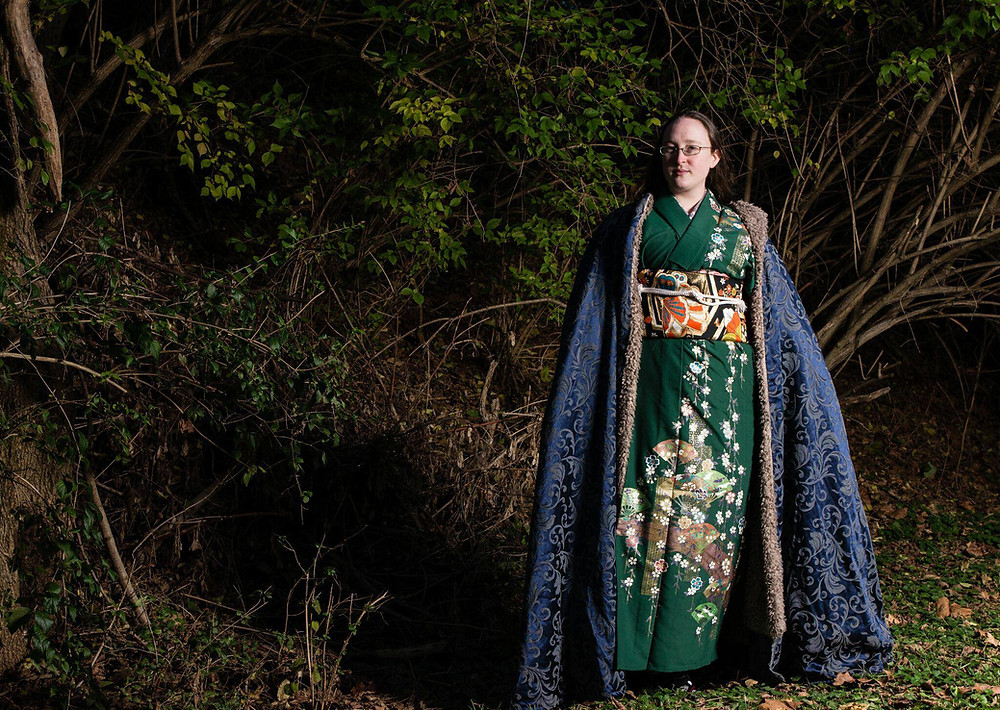 Japanese Kimono Kitsune
