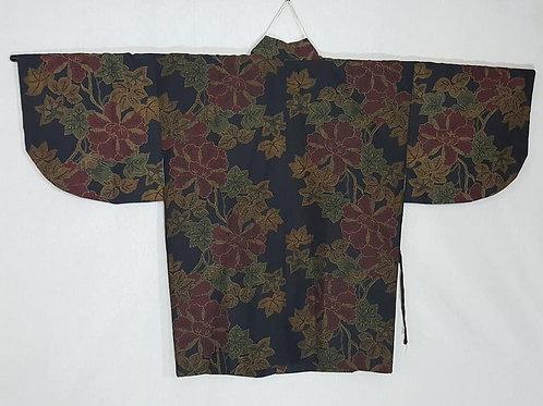 Black Douchougi Kimono Coat