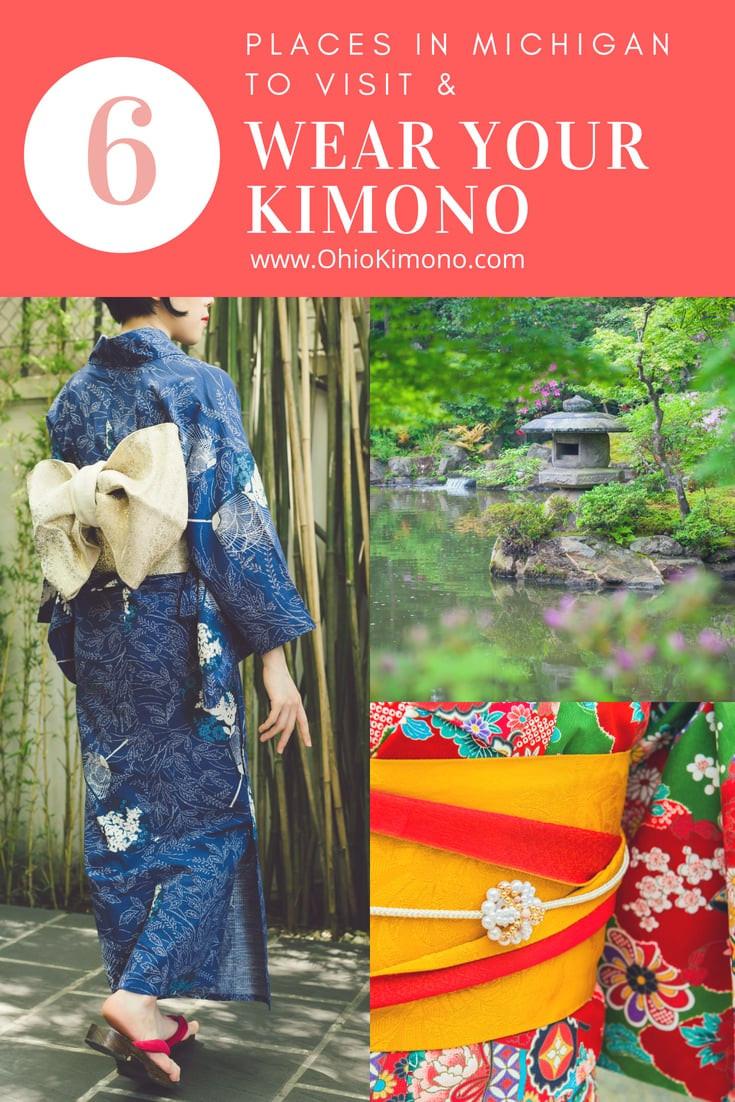 Michigan Japanese Kimono