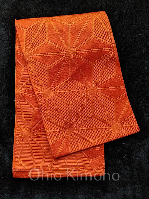 Burnt Orange Hanhaba Obi