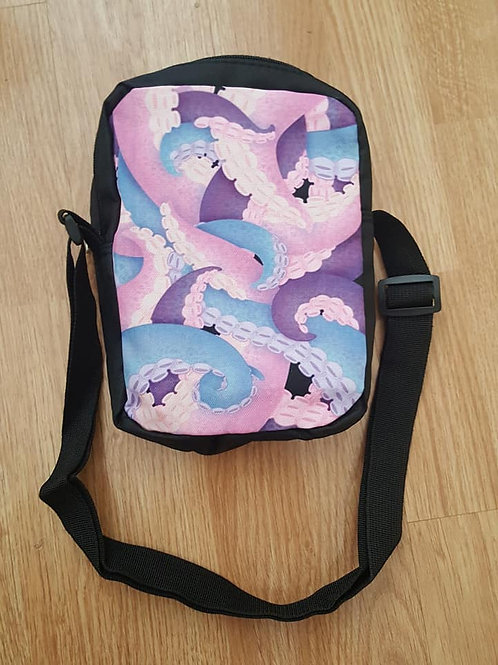 tentacle messenger bag