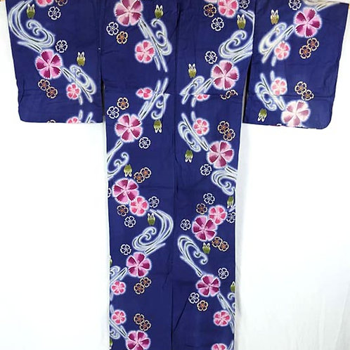 blue rabbit yukata