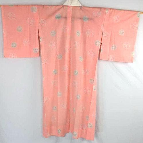 pink juban vintage cotton