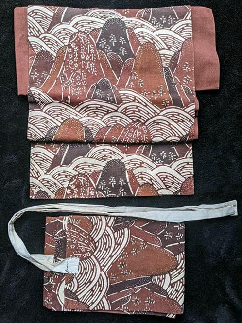 vintage easy obi for kimono