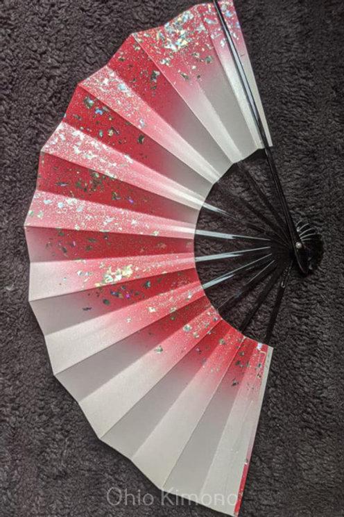 white pink sensu from japan