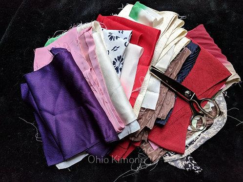 kimono fabric bundle upcycle