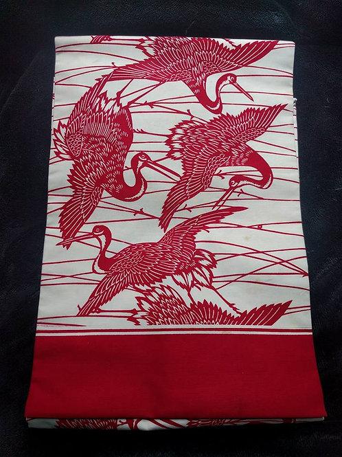 Red Nagoya Obi