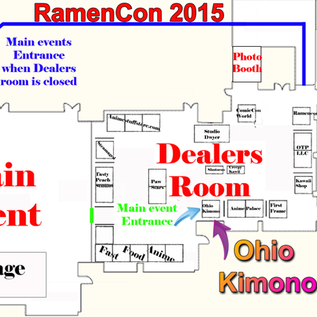 RamenCon 2015 Layout - See you there!