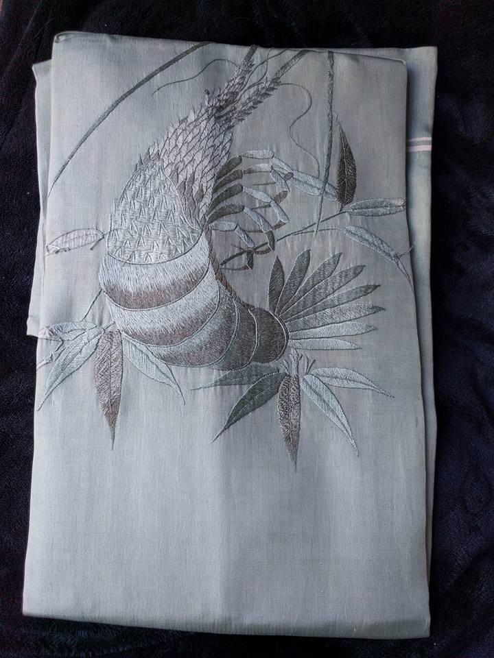 Antique Nagoya Obi For Kimono