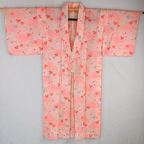 juban cotton pink for kimono
