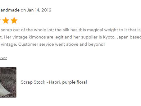 Ohio Kimono Customer Reviews