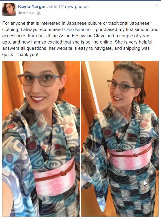 Ohio Kimono Customer Review
