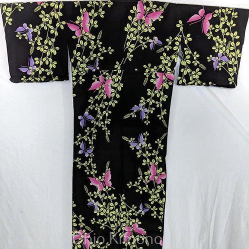 black butterfly yukata