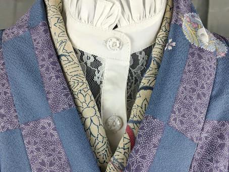 Lace Kimono Under Collars