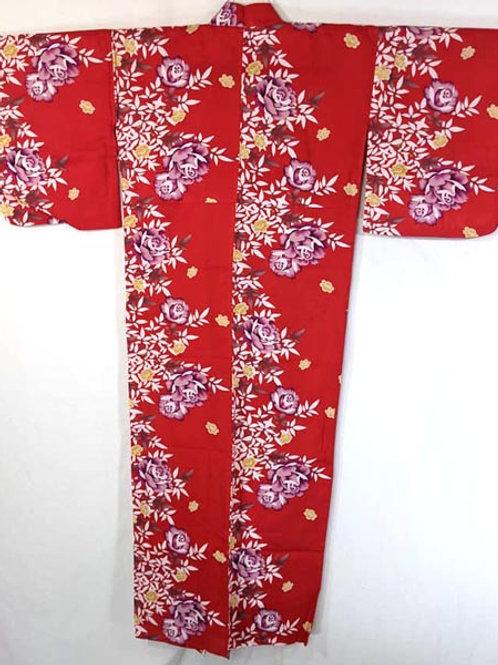 red yukata