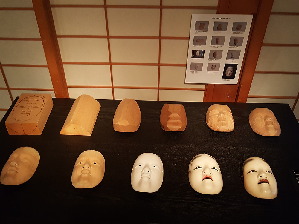 Portland Japanese Gardens - Noh Mask Exhibit