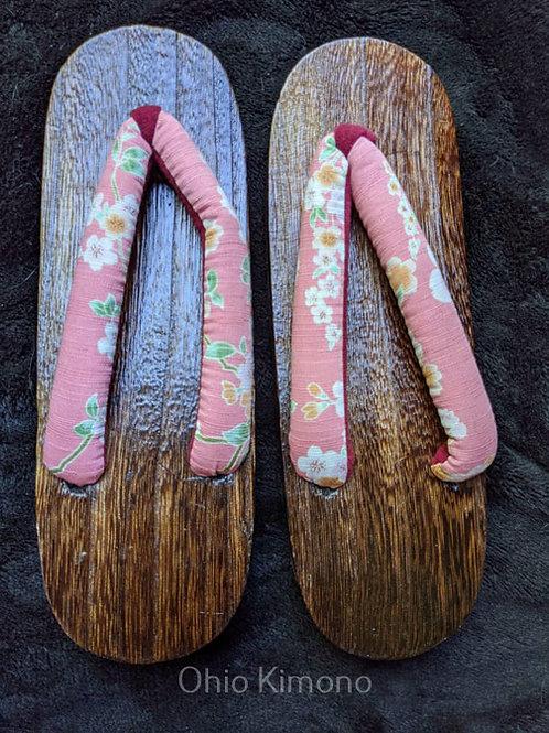 Pink Wooden Geta