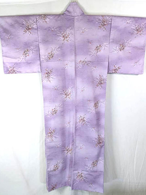 purple traditional japanese kimono