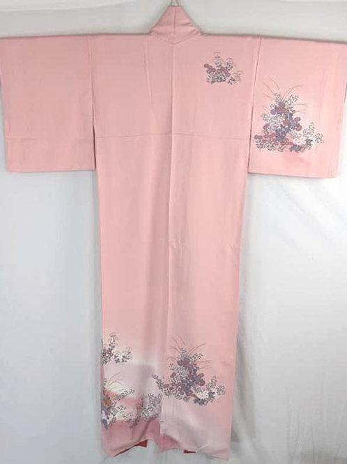 pink houmongi kimono