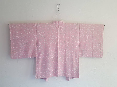 Pink Haori For Japanese Kimono