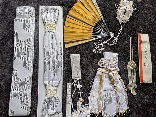 kimono wedding set womens vintage