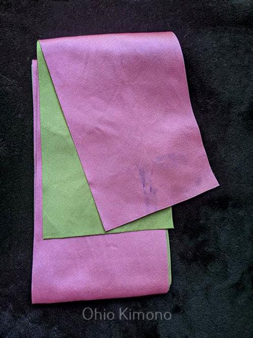 pink obi for yukata