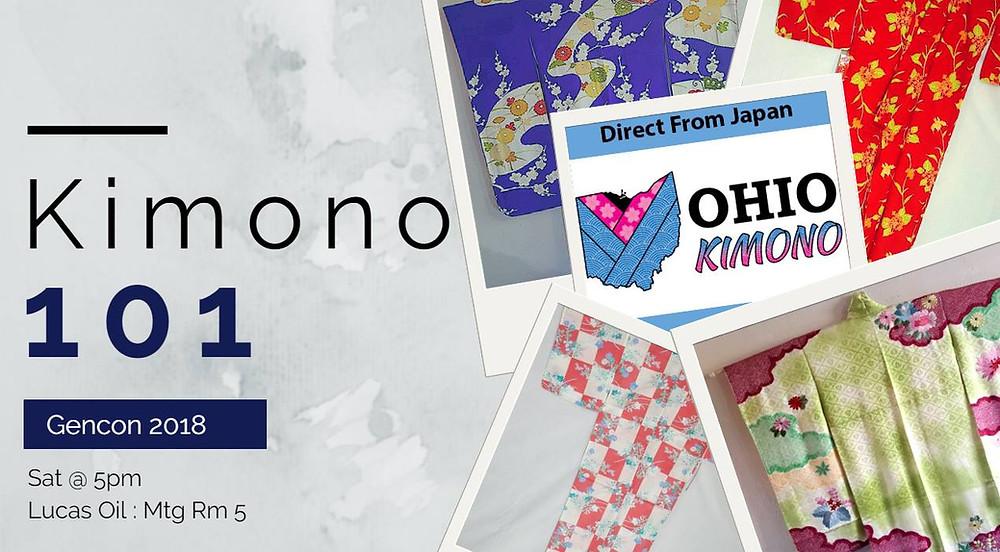 Gencon Kimono Panel
