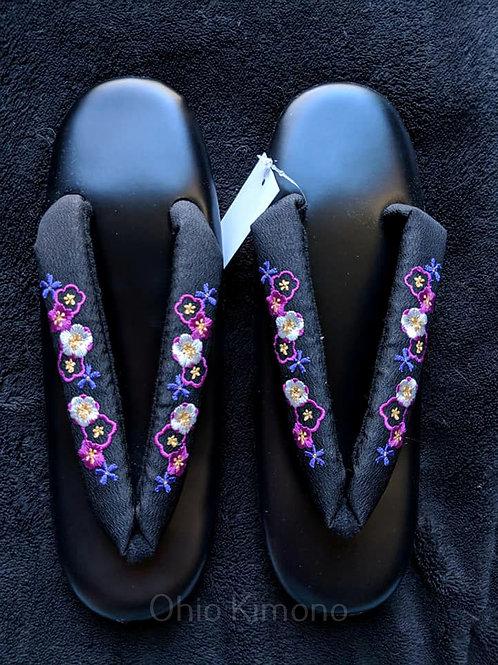 Black & Purple Zori