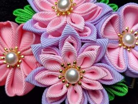 New This Week: Kanzashi & Obi
