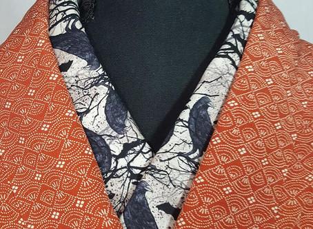 Halloween Kimono Collars