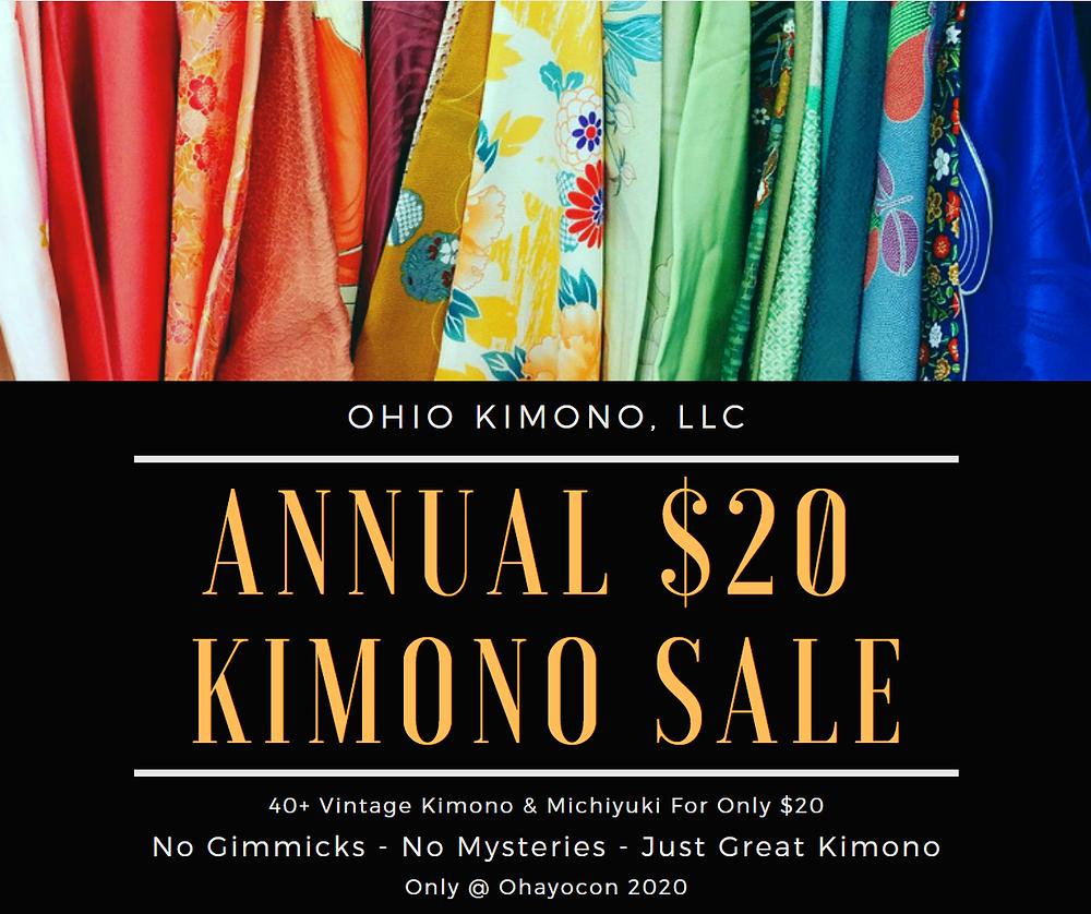 Kimono For Sale Ohayocon