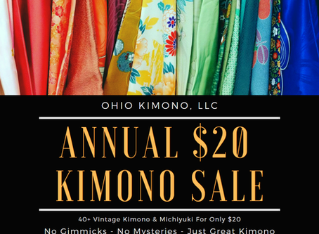 $20 Kimono @ Ohayocon 2020!