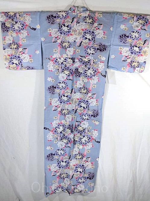 blue sakura yukata