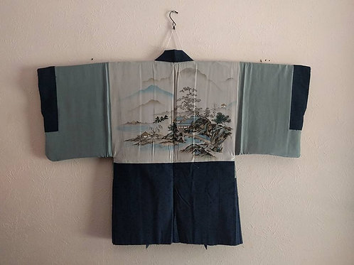 Men's Haori Kimono Coat