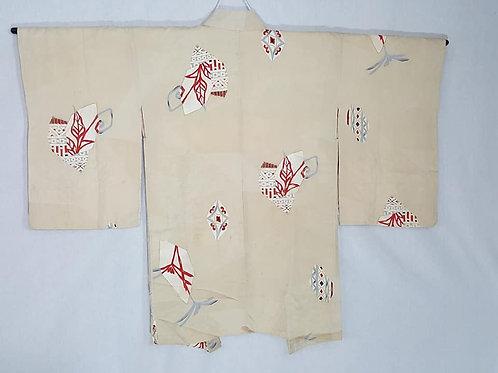 antique silk haori