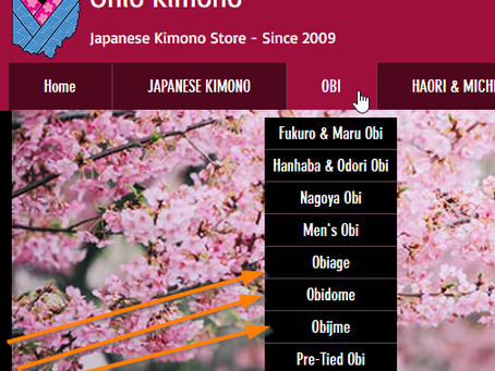 Improvements To Our Site - Ohio Kimono