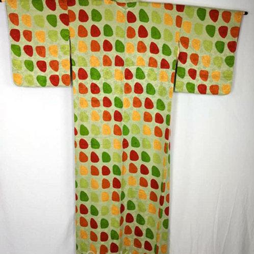 green japanese kimono for women