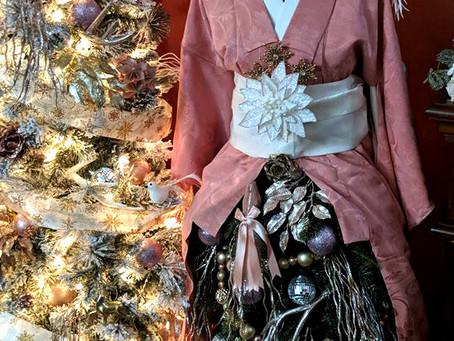 Kimono Christmas Tree