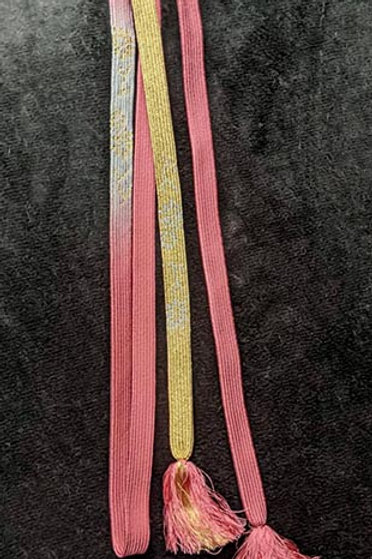 vintage obijime kimono cord