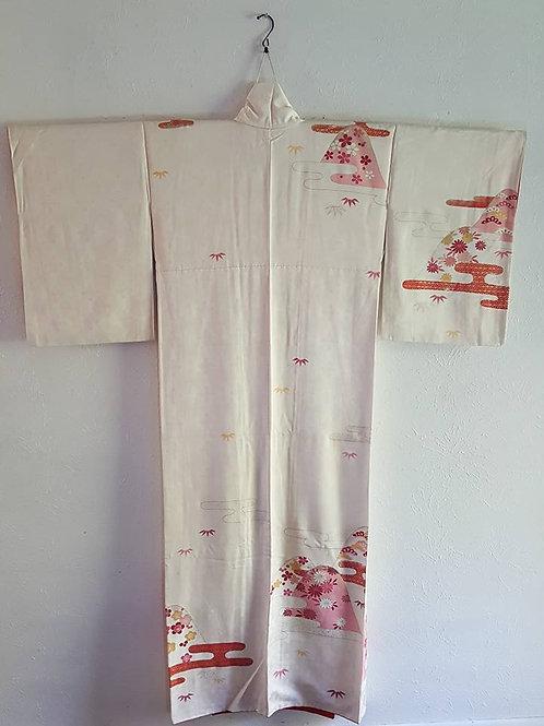 Tsukesage Japanese Kimono