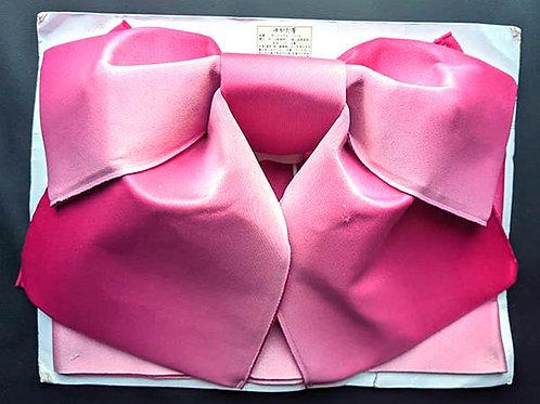 pink tsuke obi