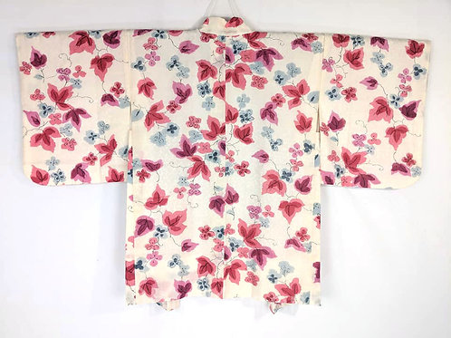 Off White & Pink Haori